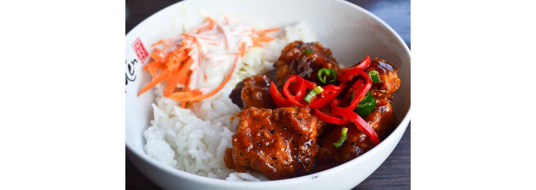 Little Tokyo Part 3: Japanese Pork Meatballs (Niku-dango) med to sause